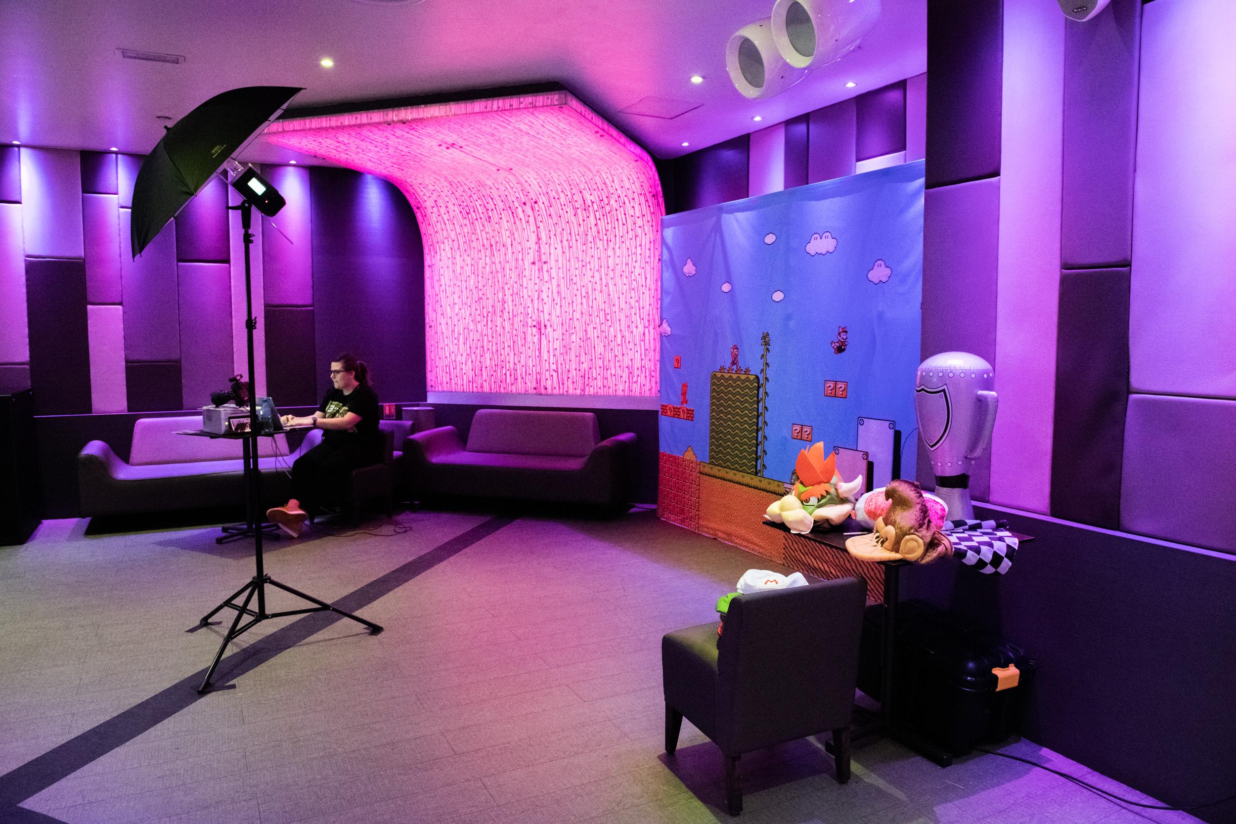 Animation photocall - au Duplex à Paris